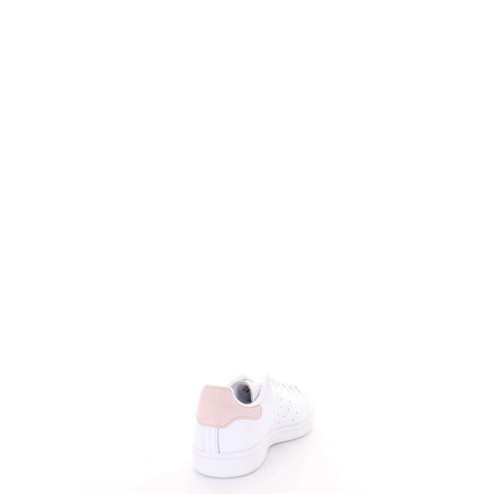 Blanc Cuir Adidas B41625 Femme Baskets Ew0xAq867
