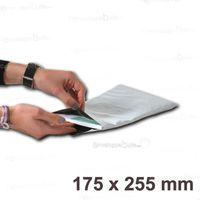 ETUI POSTAL Lot de 100 Enveloppes plastiques blanches opaques