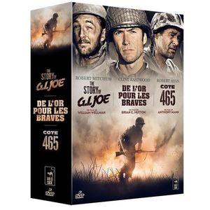 DVD SÉRIE Coffret DVd Gguerre, 3 films : De l'or pour les br