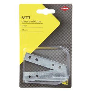 COGEX Patte d'assemblage - 80 mm - 4 pcs