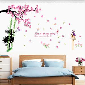 stickers muraux chambre adulte fleur achat vente pas cher. Black Bedroom Furniture Sets. Home Design Ideas
