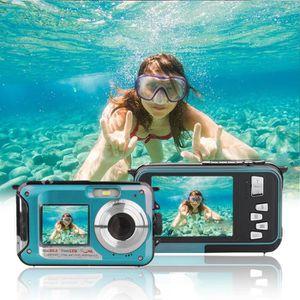 APPAREIL PHOTO COMPACT Appareil photo numériq Etanche Portable 24MP 1080P