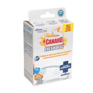 NETTOYAGE WC CANARD fresh disc citron applicateur + 1 recharge