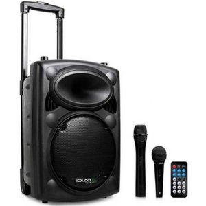 ENCEINTE ET RETOUR IBIZA SOUND PORT10VHF-BT Système de sonorisation p