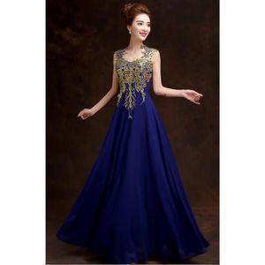Robe de mariage bleu achat vente pas cher for Robes de mariage bleu