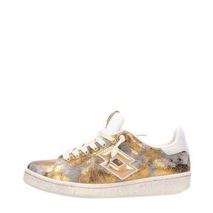 BASKET Lotto Leggenda Sneakers Femme Gold