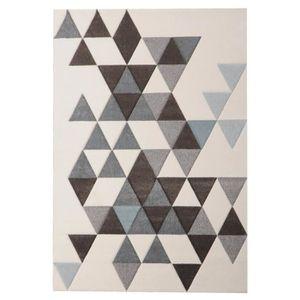 TAPIS ELLA Tapis de salon 200x290cm - Blanc