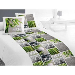 parure de lit 140x190 achat vente parure de lit 140x190 pas cher soldes d s le 10 janvier. Black Bedroom Furniture Sets. Home Design Ideas