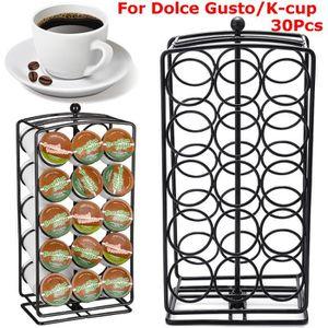 DISTRIBUTEUR CAPSULES Alimentation Electrique  30pcs café capsules pod t