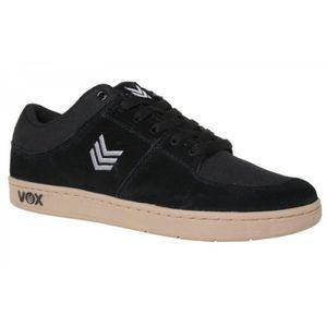 CHAUSSURES DE RUNNING Vox Skateboard Shoes Passport (Cup) Black/Gray/Gum