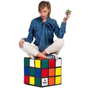 pouf rubik 39 s cube woouf achat vente pouf poire cdiscount. Black Bedroom Furniture Sets. Home Design Ideas