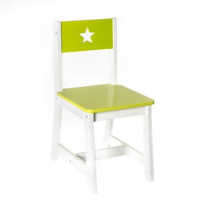 chaise verte enfant achat vente chaise verte enfant. Black Bedroom Furniture Sets. Home Design Ideas