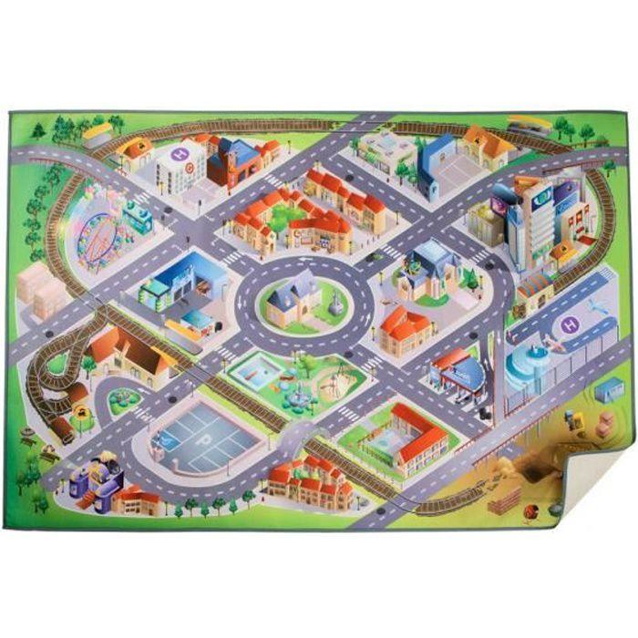 tapis de jeu circuit achat vente jeux et jouets pas chers. Black Bedroom Furniture Sets. Home Design Ideas