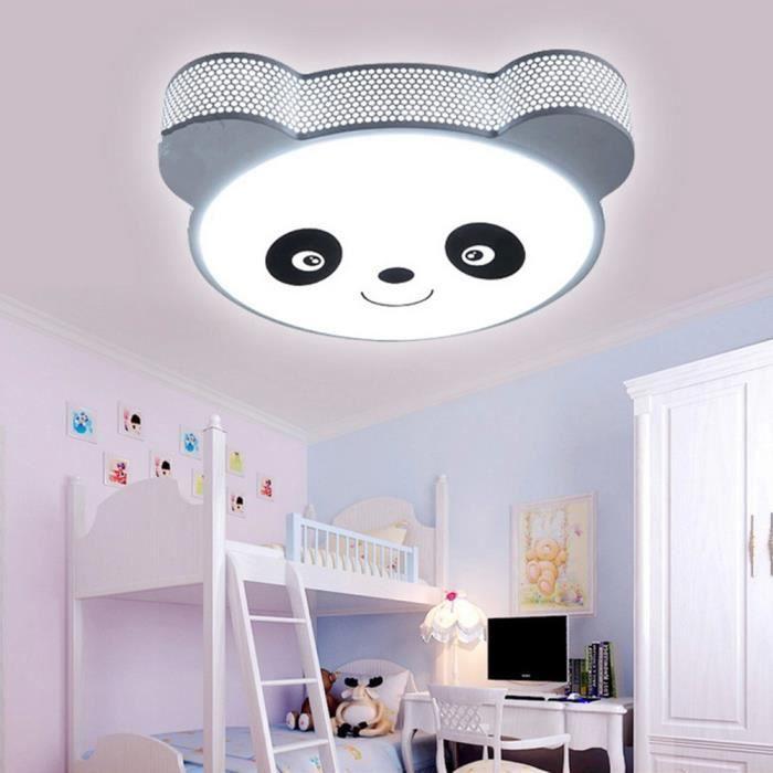 Led Plafonnier Magnifique En Forme De Panda Pour La Chambre