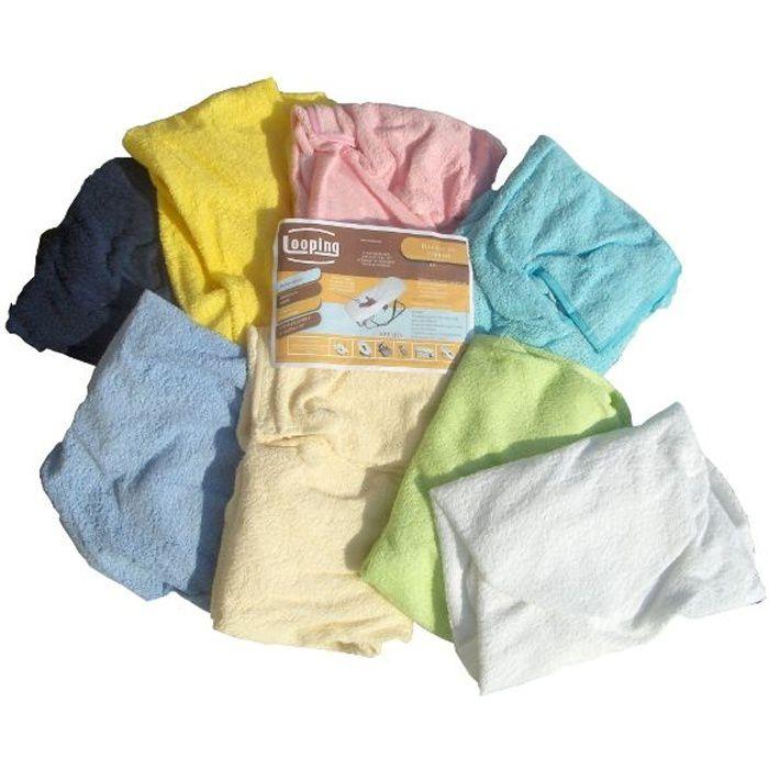Looping housse ponge pour transat blanc achat vente transat 3159059023083 cdiscount - Housse pour matelas bain de soleil ...