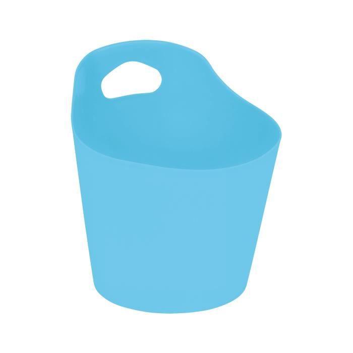 SET ACCESSOIRES Panière ronde Ø 14,5 cm Bleu océan