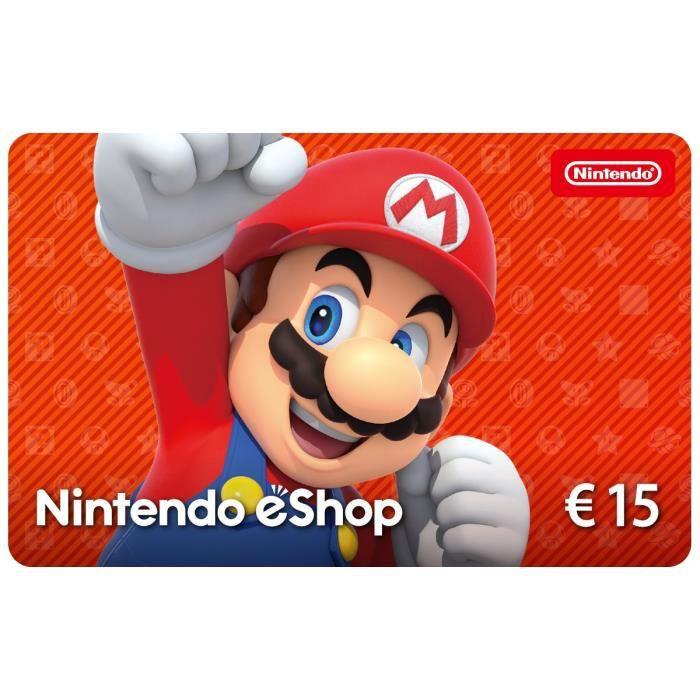 Carte Cadeau Nintendo Eshop.Carte Cadeau Nintendo Eshop 15
