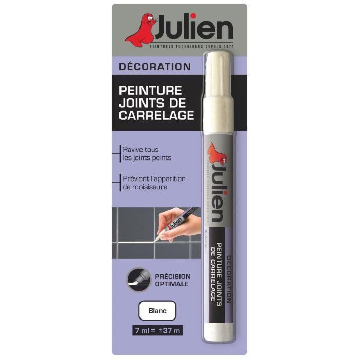 Peinture Joint De Carrelage Julien - Blanc - Achat / Vente Peinture