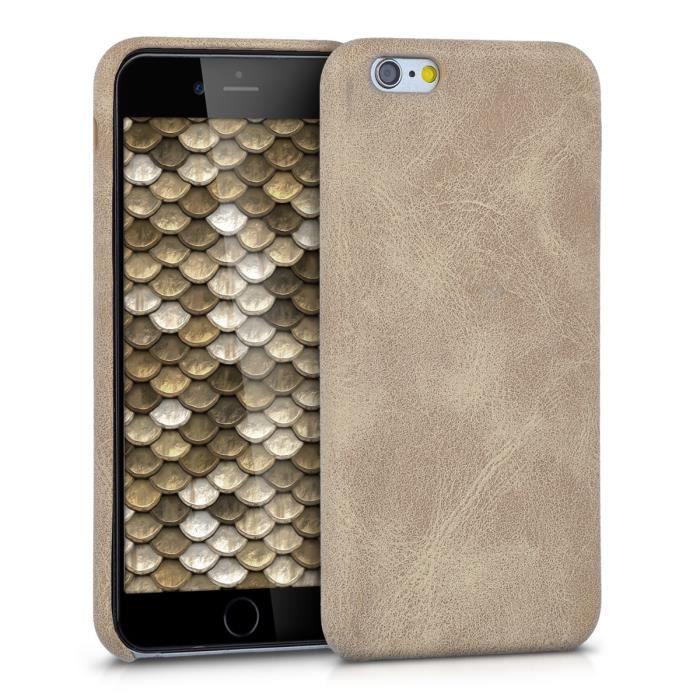 coque apple iphone 6 beige