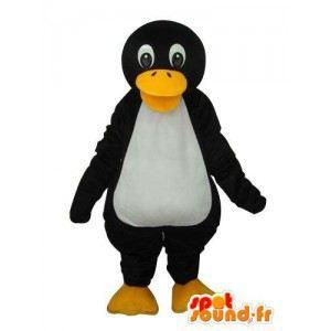 Mascotte de pingouin blanc noir … - Achat   Vente déguisement ... 8593a18f420