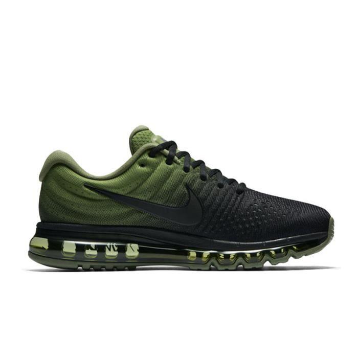 détaillant en ligne 5cea0 7957d Basket Nike Air Max 2017 Chaussures de running Noir armée ...
