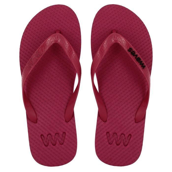 Waves 100% Flip Flops en caoutchouc naturel et unisexe pour Regular Fit Sandales Chaussons - Essentials HW8NB Taille-42 WCyWeoa5qZ