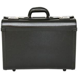 9fb9d72972 ... ATTACHÉ-CASE Porte-documents style business - cuir mélangé - ta ...