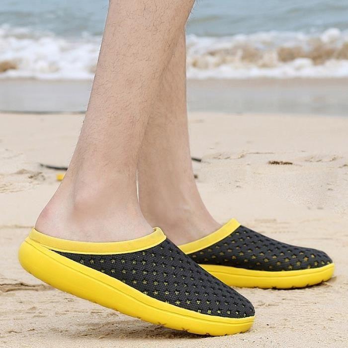 Skid Hommes Plat Chaussures Casual Résistance Sandales étudiants Waterproof qI7AHS7w