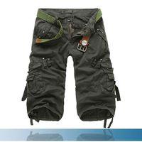 SHORT Cargo Shorts Homme   Marque Luxe Pantalon cargo Po