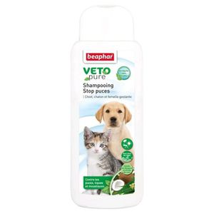 ANTIPARASITAIRE BEAPHAR Shampooing stop puces - Pour chiot, chaton