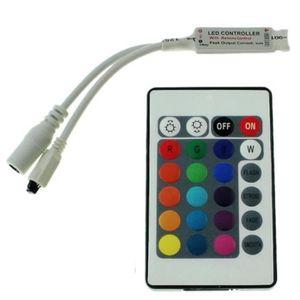TÉLÉCOMMANDE DOMOTIQUE  Télécommande 24 touches avec controlleur RGB pour