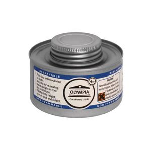 ETHANOL Combustible liquide OLYMPIA pour chafing dish 4h -