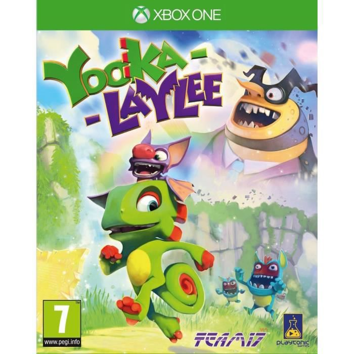 JUST FOR GAMES Jeu Xbox One Yooka-Laylee