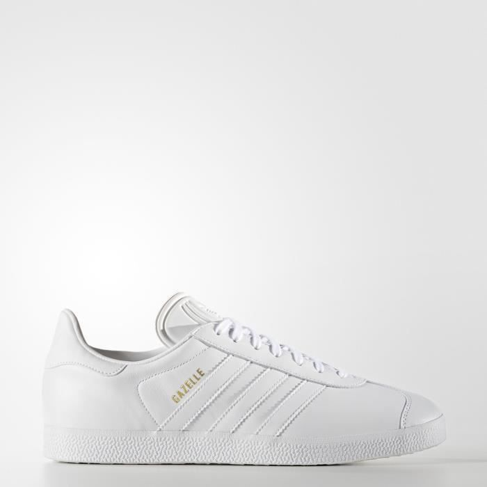 BASKET gazelle cuir blanche homme Taille 45 1/3