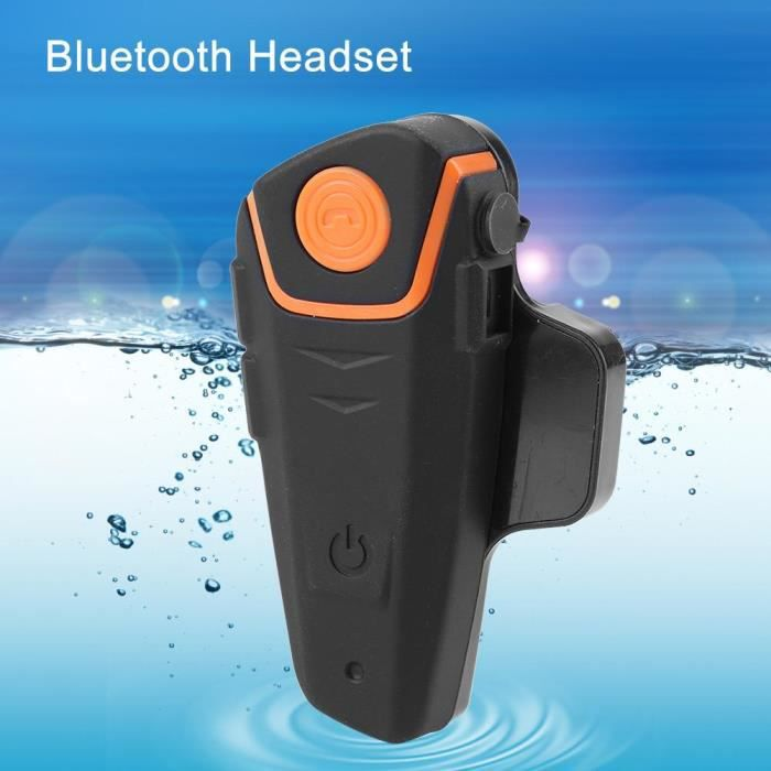 Casque De Moto Étanche Bluetooth Intercom -tam