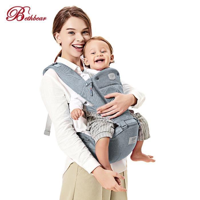 Beth Bear 0-36 mois Porte-bébé 4 en 1 Hipseat Nouveau-né Infant Toddler  Sling 0691145311a