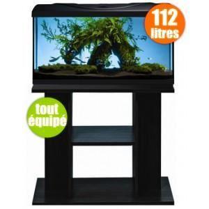 Aquarium pas cher 112 litres avec meuble achat vente for Aquarium pas cher 50l