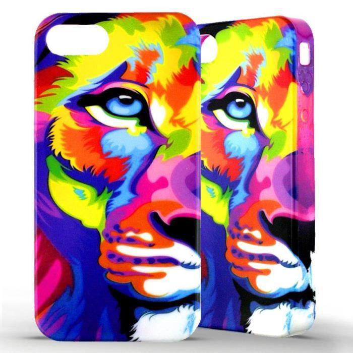 coque coloré iphone 5