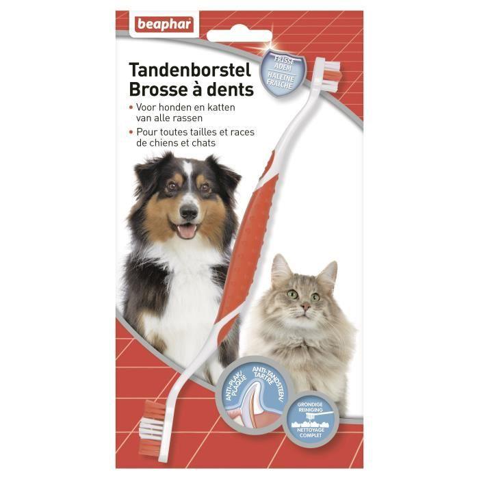 Beaphar Brosse À Dents - Pour Chien Et Chat