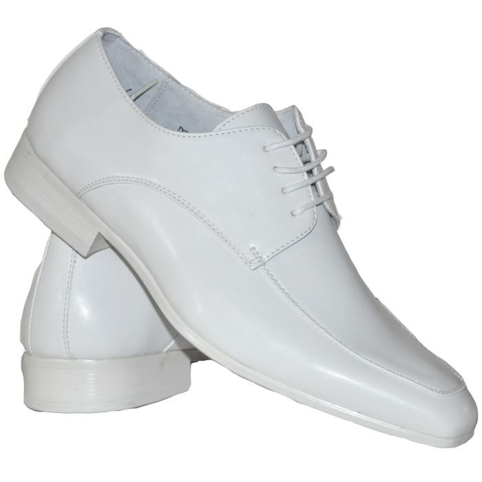 af00dde72b7 Chaussures blanches pour homme ... Blanc Blanc - Achat   Vente ...