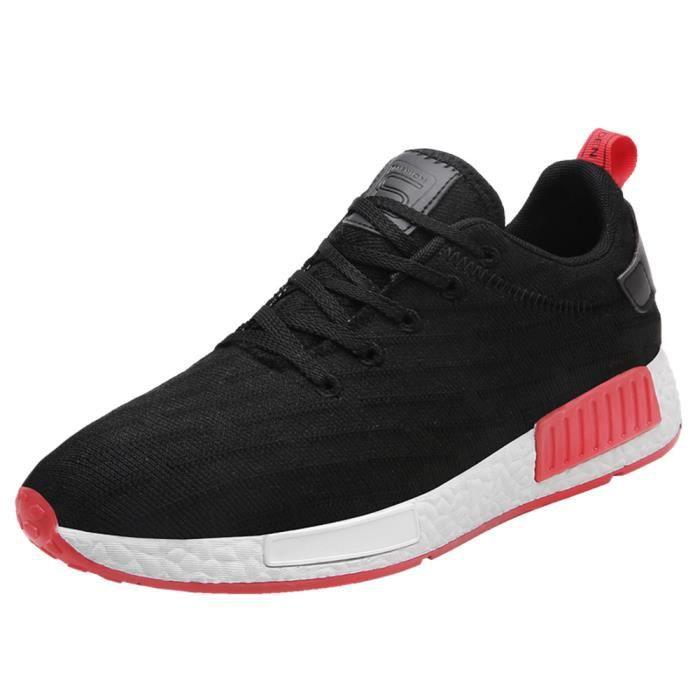Baskets Hommes irrégulier Dégradé de couleur Basket 2017 Hiver Loisirs Durable chaussures Plus De Couleur Plus Taille 39-44 QpET9O