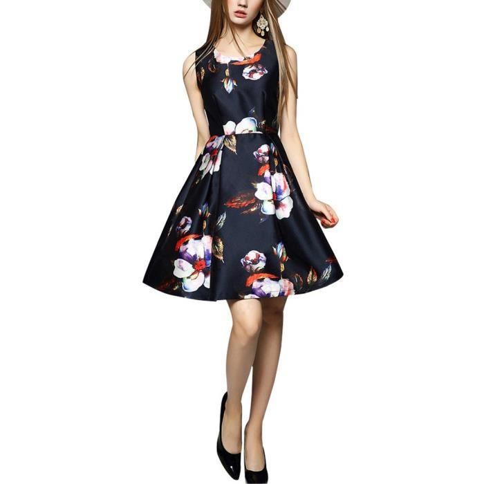 Craze impression exotique taille smockée maxi robe plus & tailles régulières JPYD2