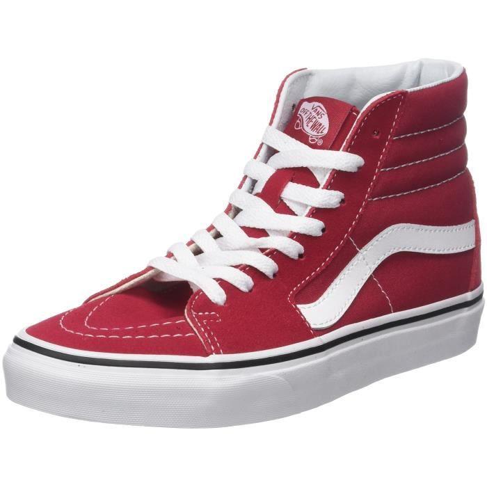 vans rouge 39