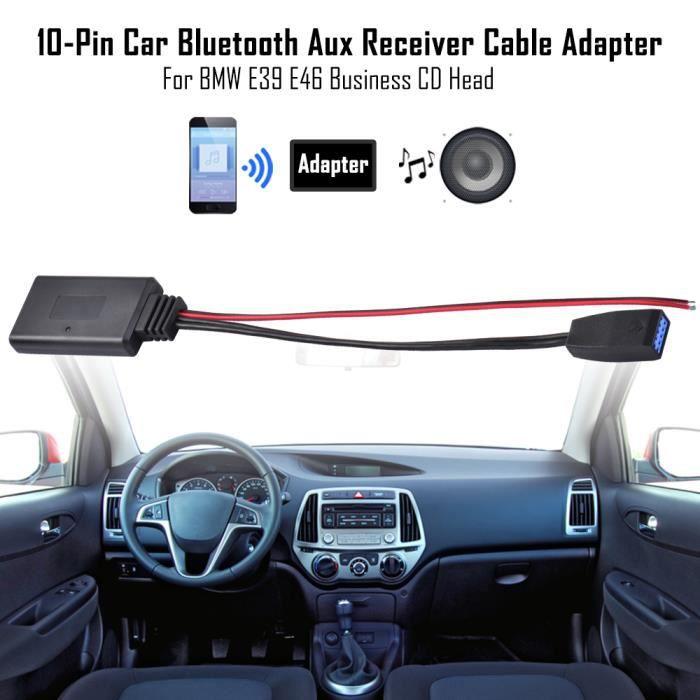 Adaptateur Bluetooth Câble audio Aux Pour BMW E46 Série 3 Business CD MA2044
