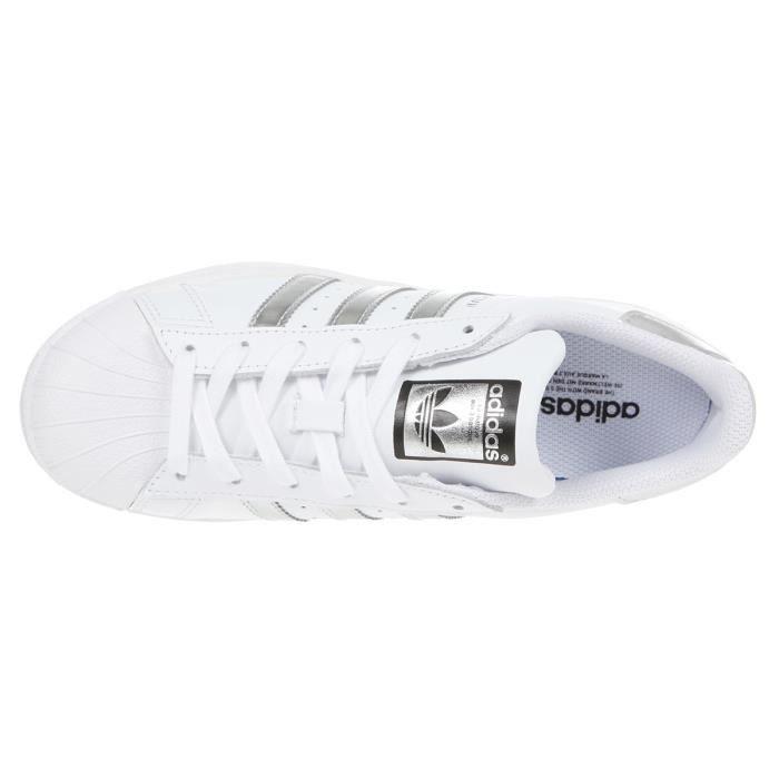 Silver12 Hommes White Baskets Uk Adidas Superstar vmn08wN