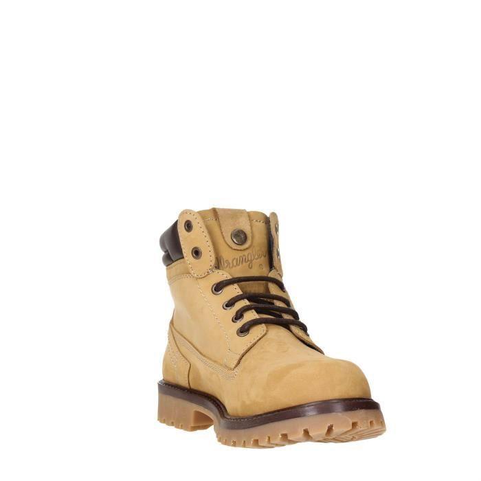 Wrangler Bottines Homme Tan/ Yellow, 45