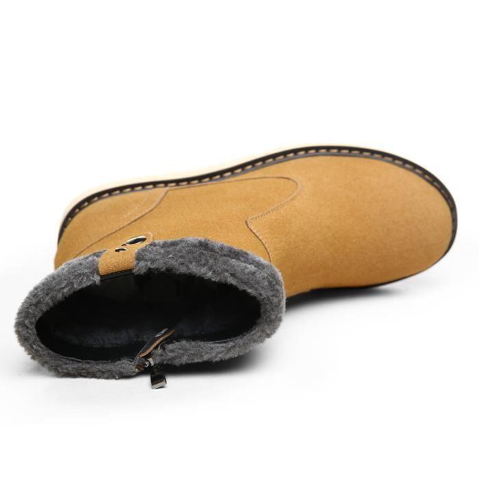 Bottes courtes Chaussures de villeChaussures de randonnée Chaussures montantes Chaussures chaudement Bottes mode Chaussures pour kmV04mwT2