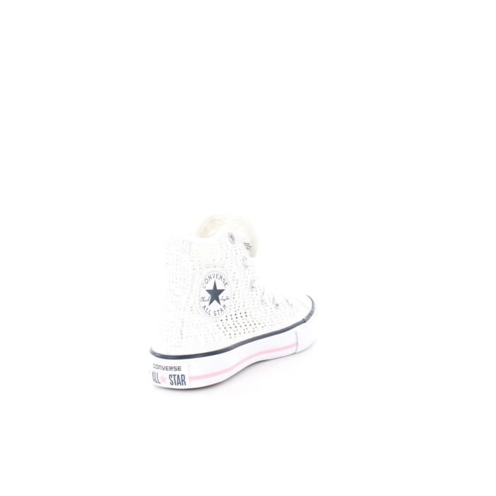 CONVERSE SNEAKERS fille WHITE, 33
