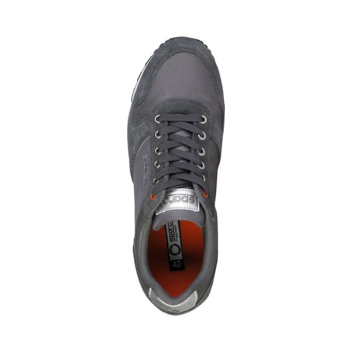 Sparco - Baskets pour homme (DAVIDSTOW_GRIGIOSCURO) - Gris