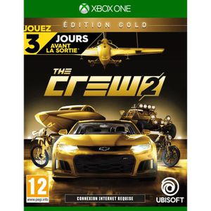 JEU XBOX ONE The Crew 2: Édition Gold Jeu Xbox One